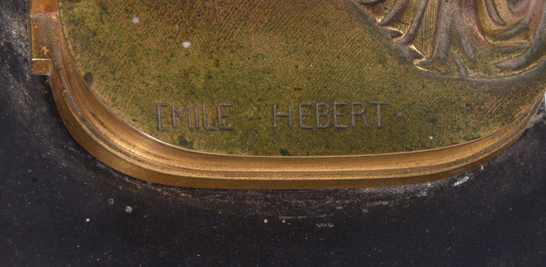 """EMILE HEBERT """"THETIS"""" BRONZE SCULPTURE - 2"""