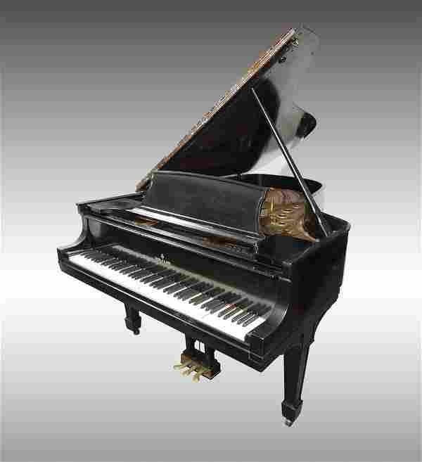 1930 STEINWAY EBONIZED MODEL B GRAND PIANO