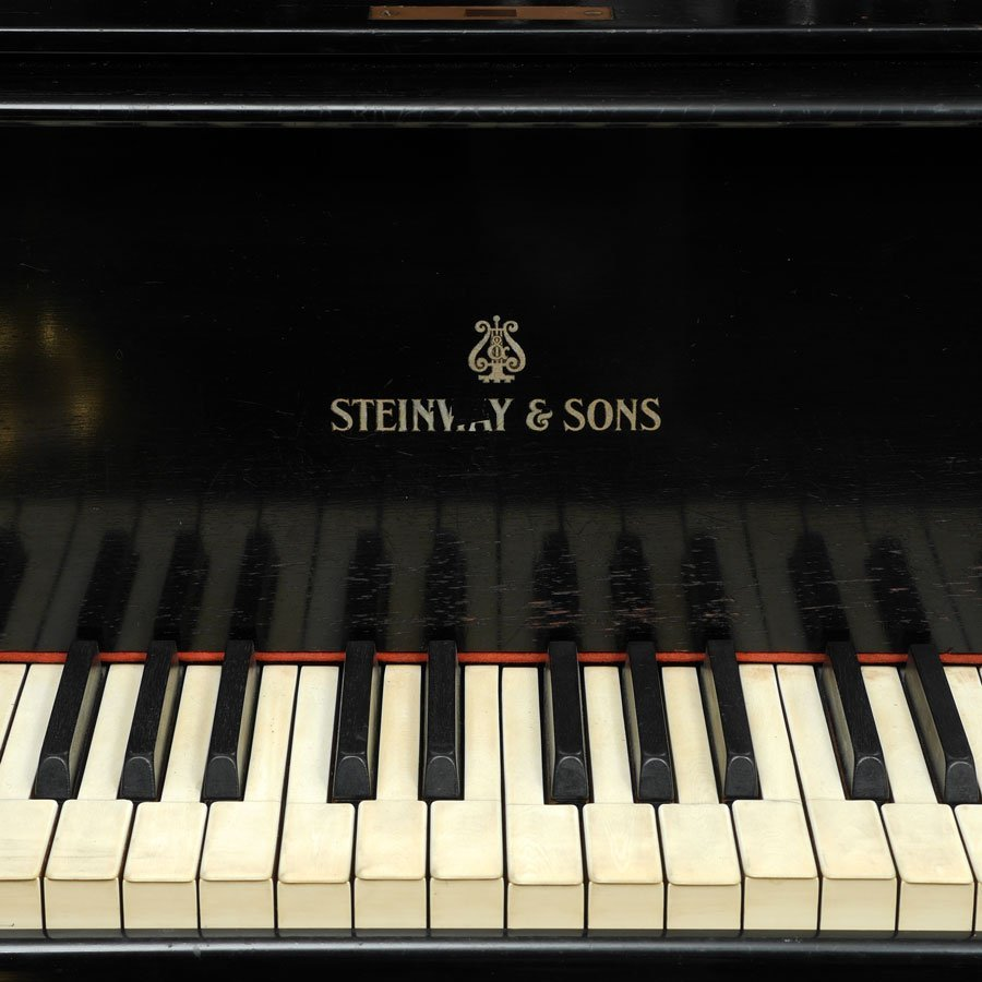 1930 STEINWAY EBONIZED MODEL B GRAND PIANO - 3
