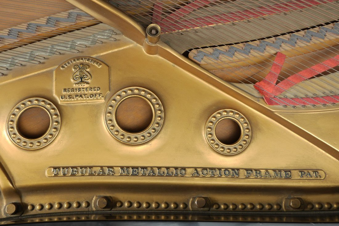 1930 STEINWAY EBONIZED MODEL B GRAND PIANO - 7