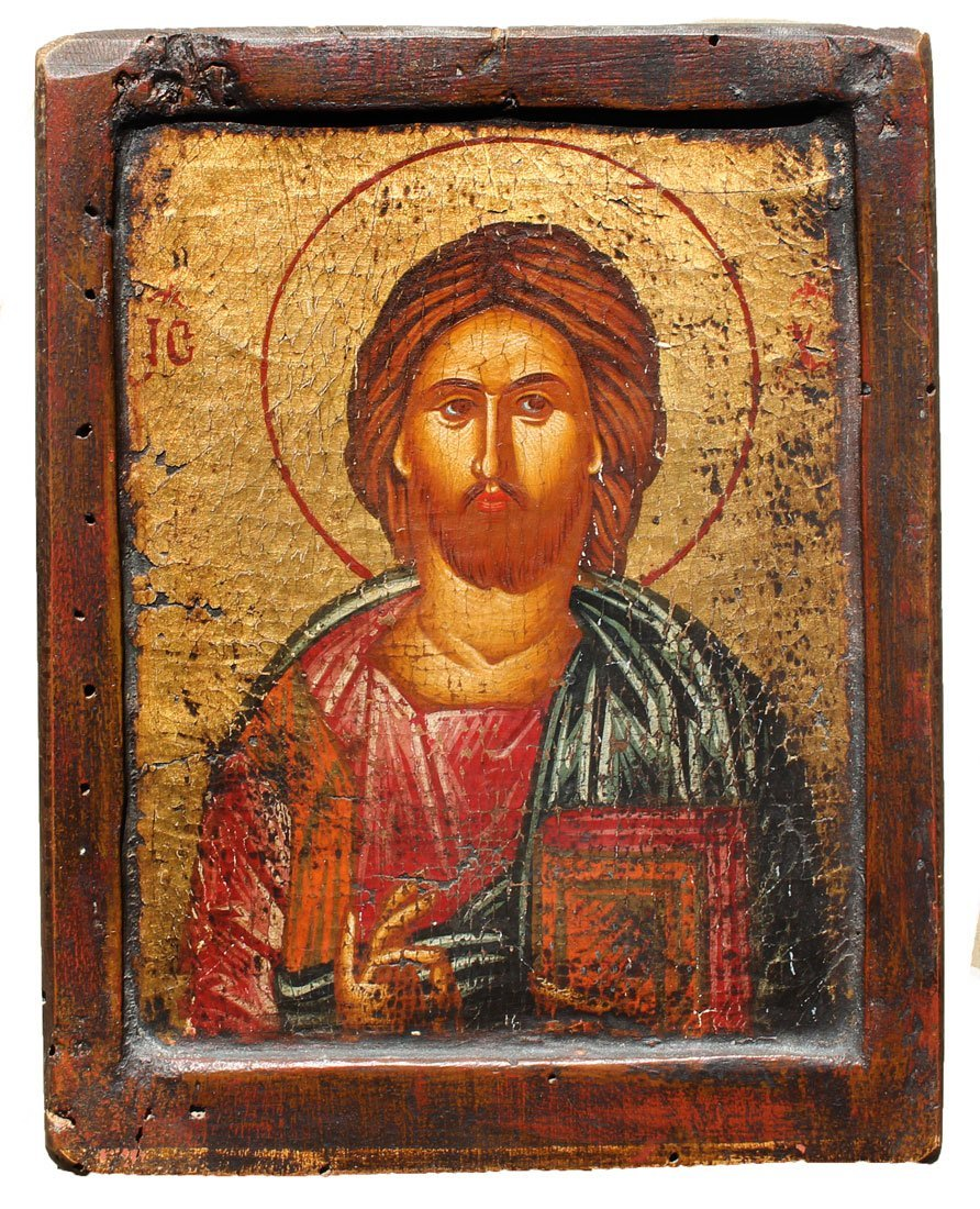 CHRIST ICON PAINTING