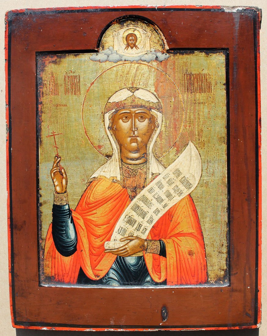 EARLY ICON PAINTING