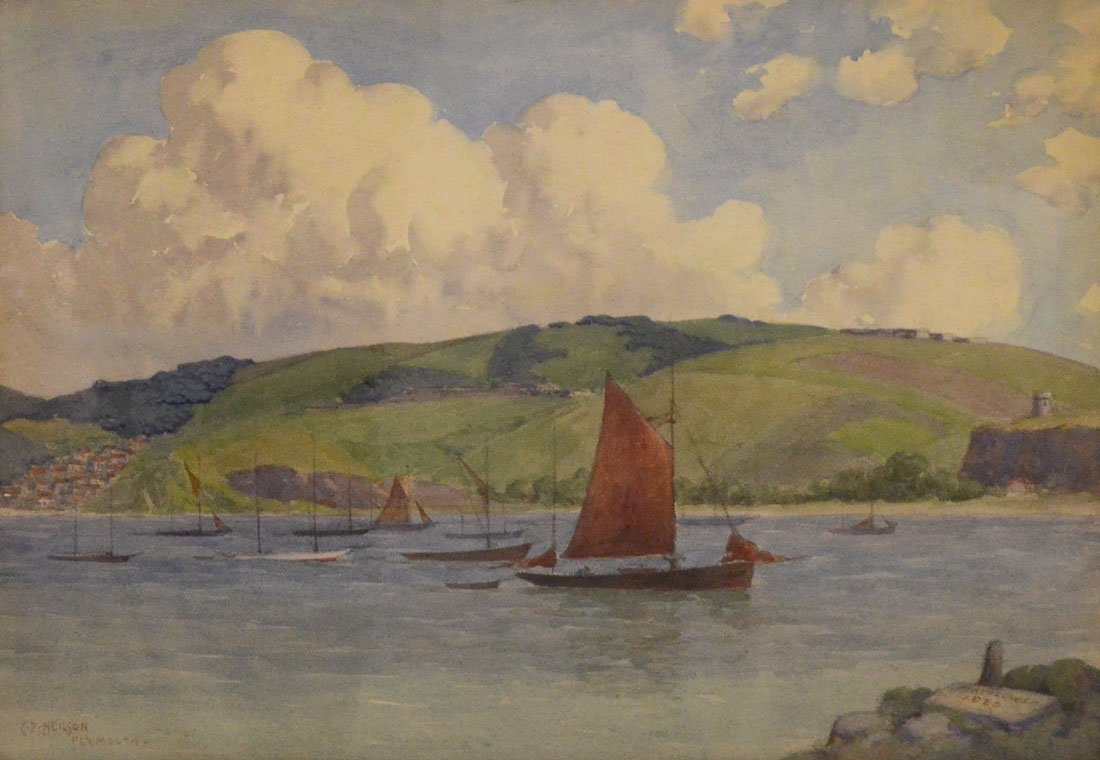 C. P. NEILSON PLYMOUTH ENGLAND PAINTING