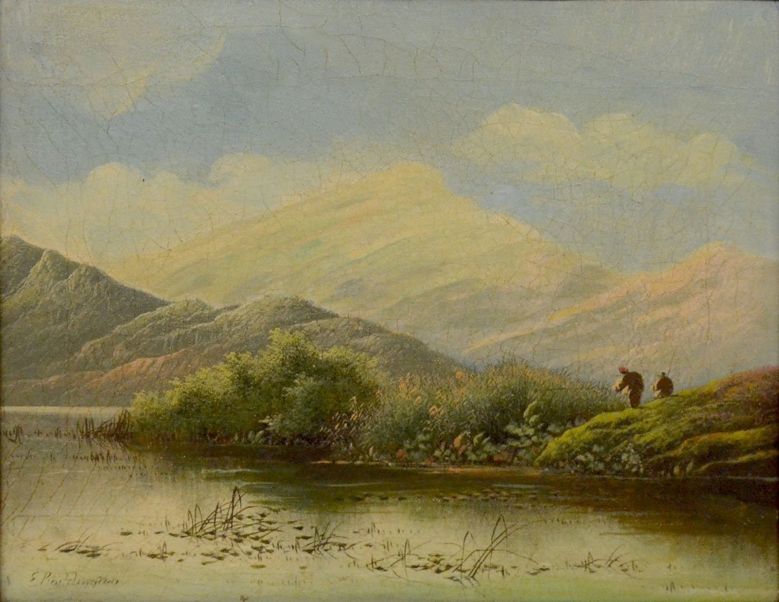 FLY FISHING PAINTING BY BODDINGTON