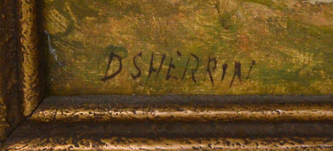 DANIEL SHERRIN LANDSCAPE PAINTING - 3