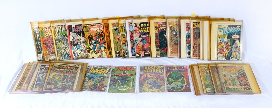 COLLECTION OF BRONZE & MODERN AGE COMIC BOOKS - 2