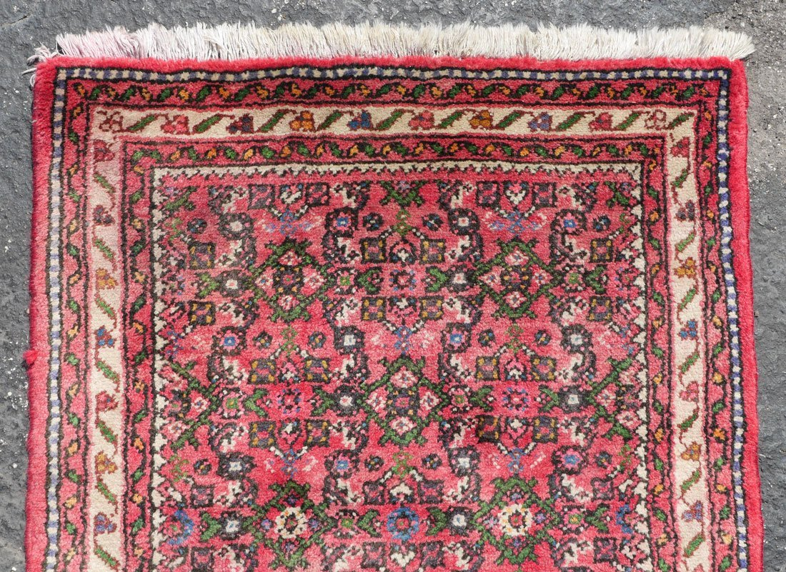 "PERSIAN DERGAZINE HK WOOL RUNNER, 2'5"" X 6'5"" - 2"