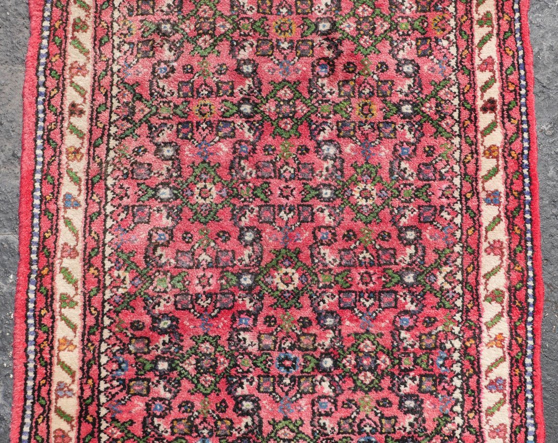 "PERSIAN DERGAZINE HK WOOL RUNNER, 2'5"" X 6'5"" - 3"