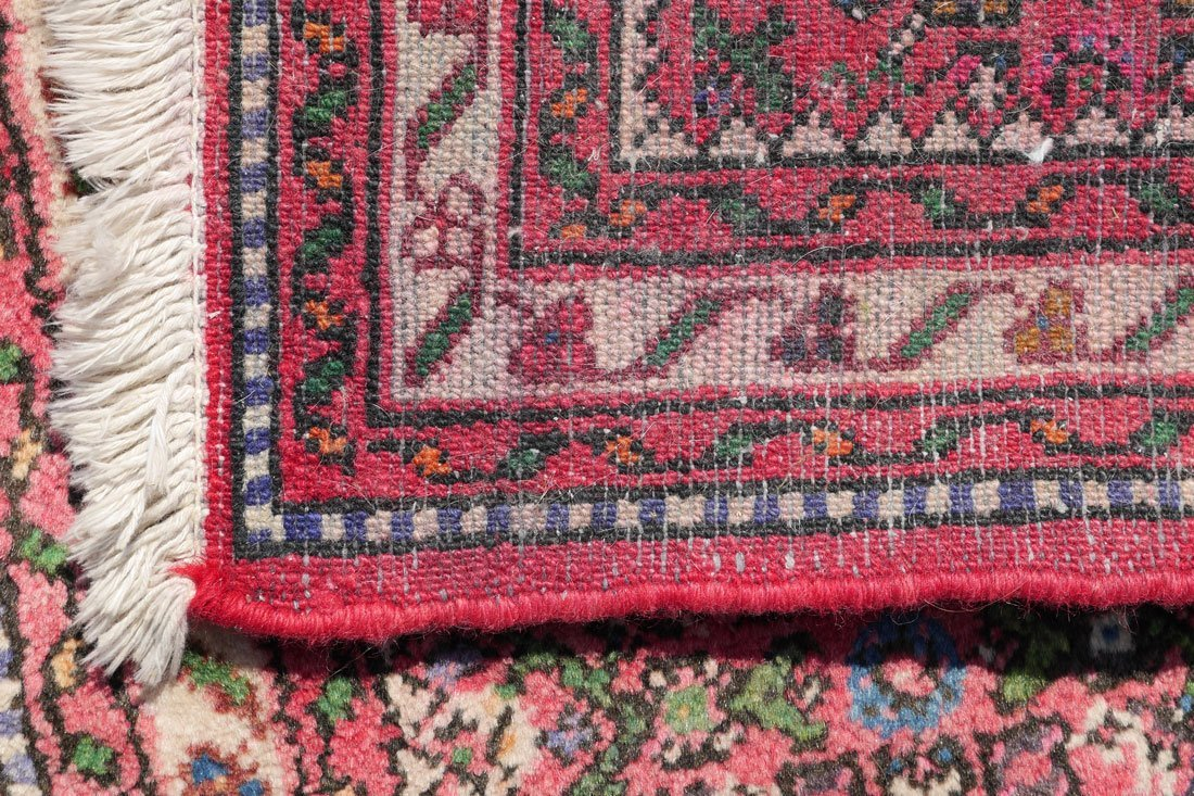 "PERSIAN DERGAZINE HK WOOL RUNNER, 2'5"" X 6'5"" - 4"