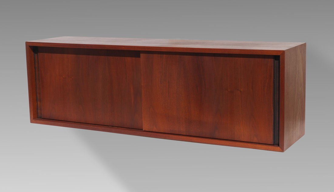MID CENTURY HANGING WALL CABINET