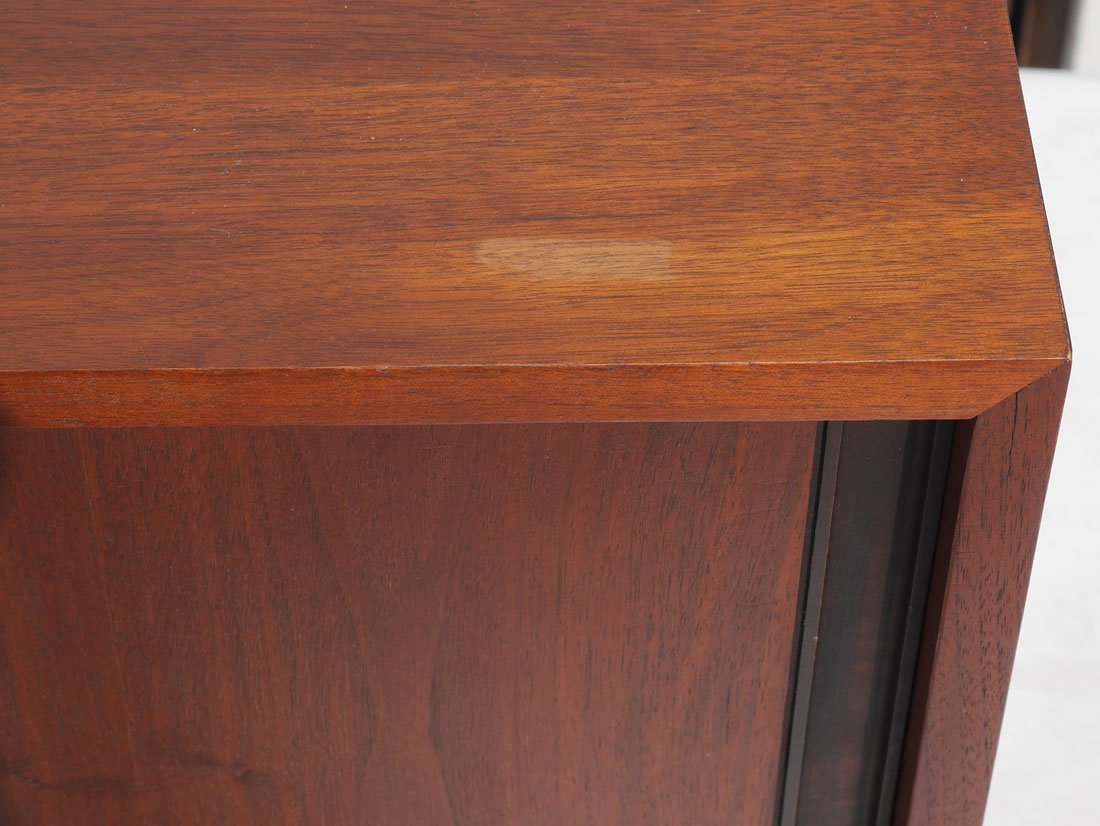 MID CENTURY HANGING WALL CABINET - 3