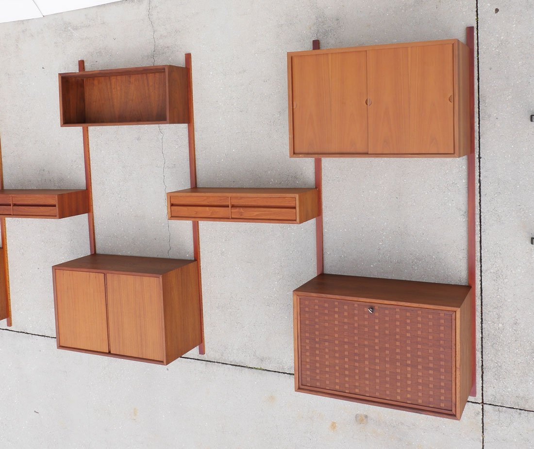 POUL CADOVIOUS CADO 5 BAY WALL UNIT - 3