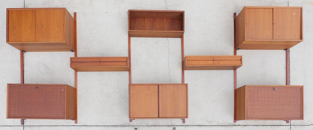 POUL CADOVIOUS CADO 5 BAY WALL UNIT - 4