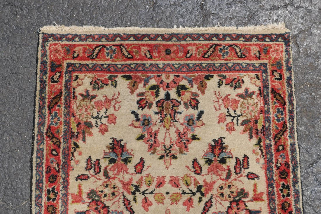 "PERSIAN LILLIHAN HK WOOL RUNNER, 2'6"" X 6'10"" - 3"