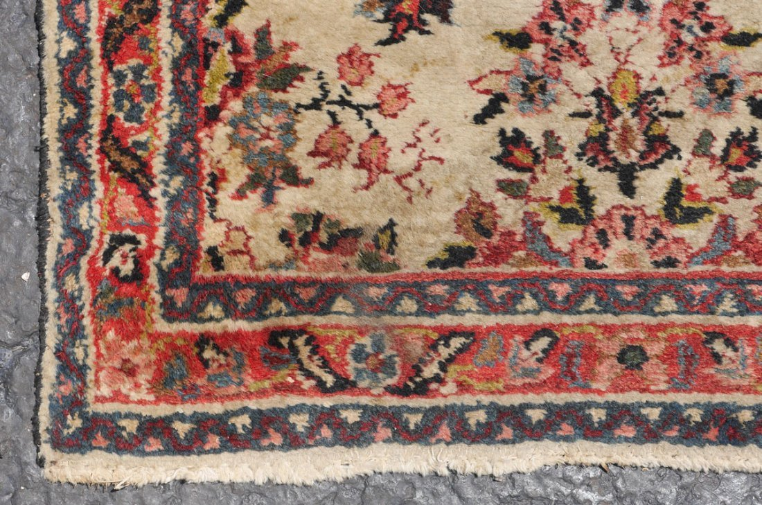 "PERSIAN LILLIHAN HK WOOL RUNNER, 2'6"" X 6'10"" - 4"
