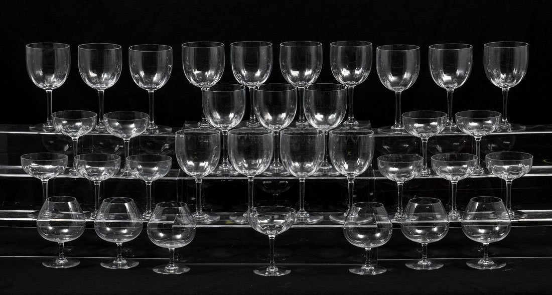 BACCARAT MONTAIGNE & PERFECTION CRYSTAL STEMWARE