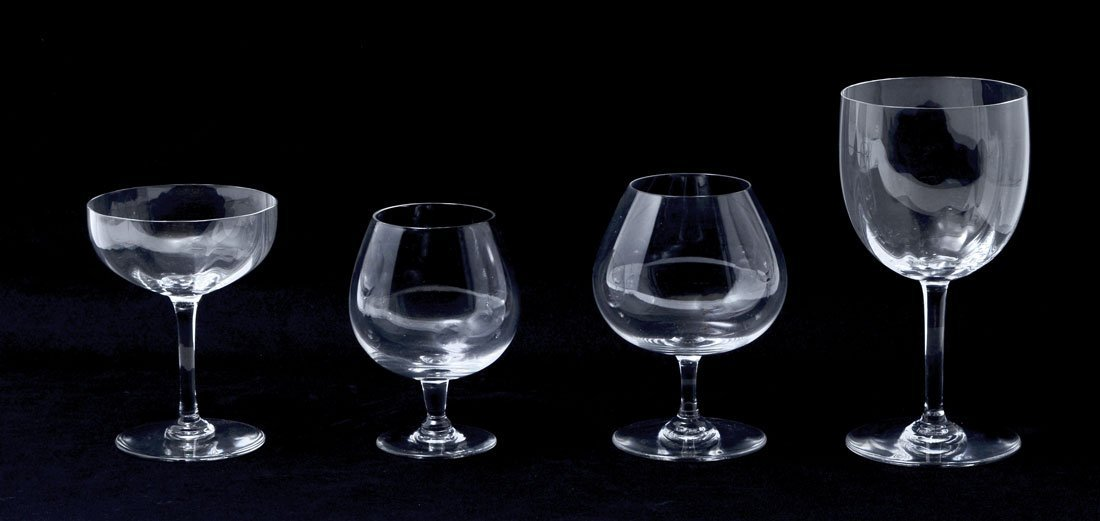 BACCARAT MONTAIGNE & PERFECTION CRYSTAL STEMWARE - 4