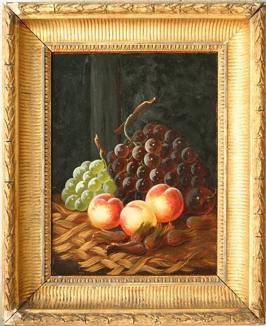 13: G.W. GOODALL STILL LIFE PAINTING OF FRUIT