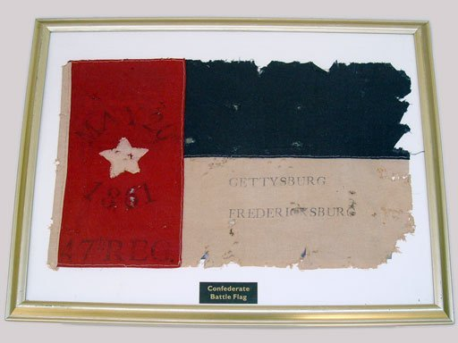 82: CIVIL WAR  47TH REGIMENT CIVIL WAR BATTLE FLAG