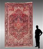 PERSIAN HERIZ HK WOOL RUG 77 x 1010