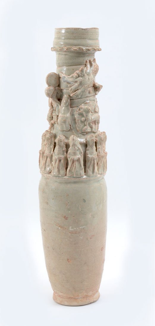 CHINESE SONG DYNASTY YINGQING FUNERARY URN