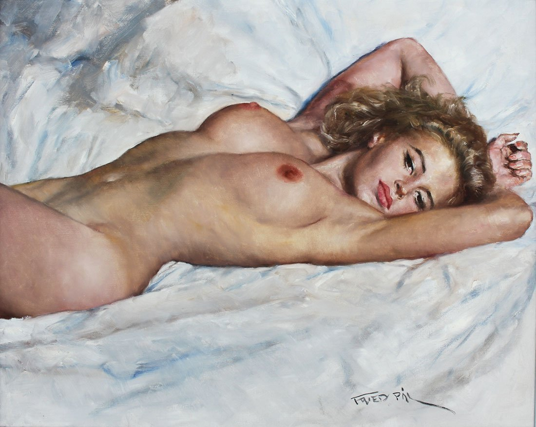 PAL FRIED NUDE PAINTING SANDY