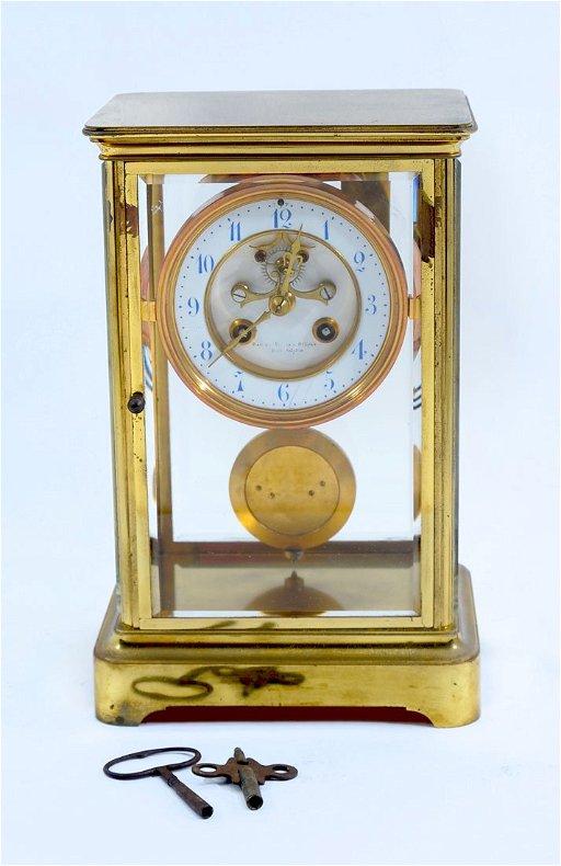 Bailey Banks Biddle Crystal Regulator Clock Jan 28 2018 Burchard Galleries Inc In Fl