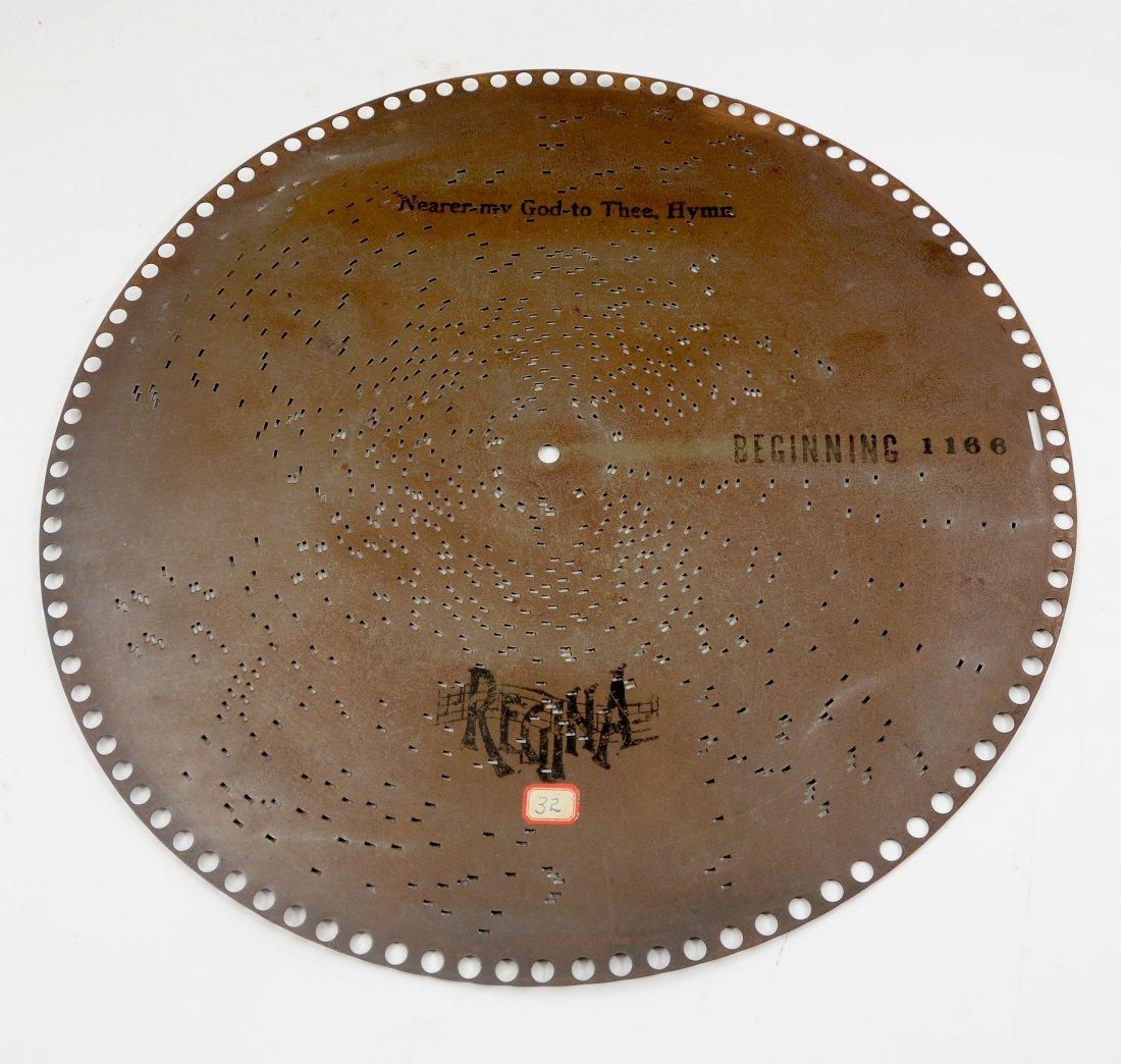 50 REGINAPHONE 15 1/2'' MUSIC BOX DISCS - 3