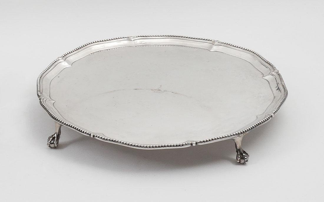 GEORGE III MAKEPEACE & CARTER STERLING SALVER
