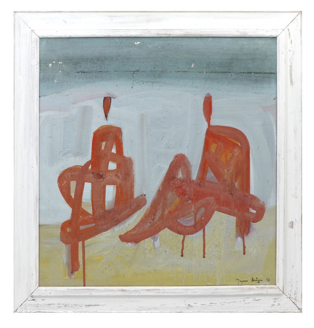 JACQUES BERGER MODERNIST PAINTING - 2
