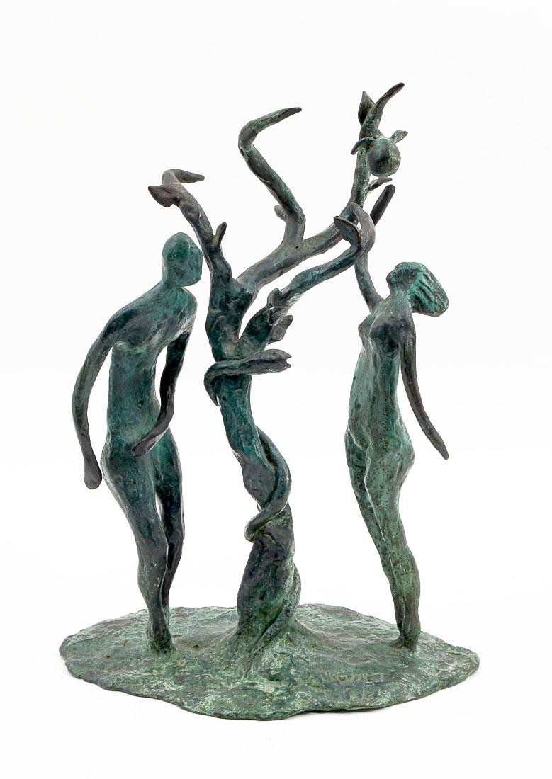 JAUQUET ADAM AND EVE BRONZE