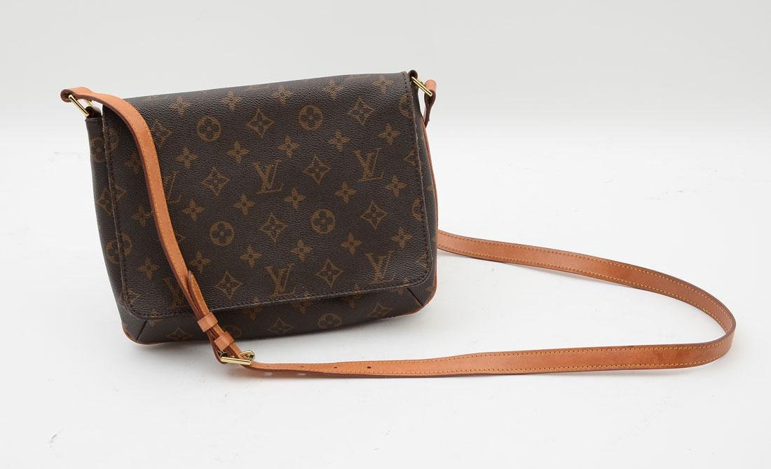 LOUIS VUITTON MONOGRAMMED MUSETTE TANGO BAG