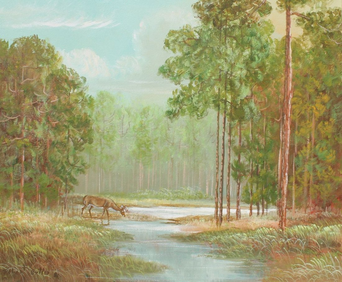 ROBERT BUTLER FLORIDA HIGHWAYMEN PAINTING