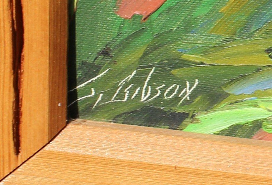 JAMES GIBSON FLORIDA HIGHWAYMEN PAINTING - 3