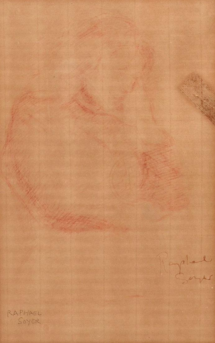 RAPHAEL SOYER DRAWING
