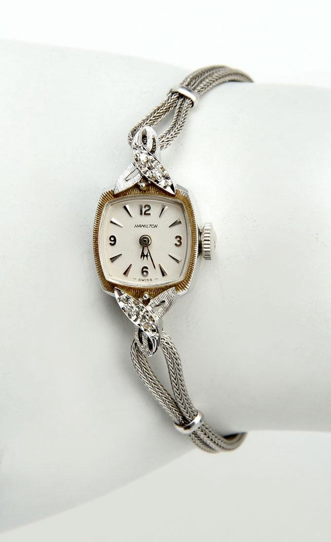 14K LADY HAMILTON WRISTWATCH