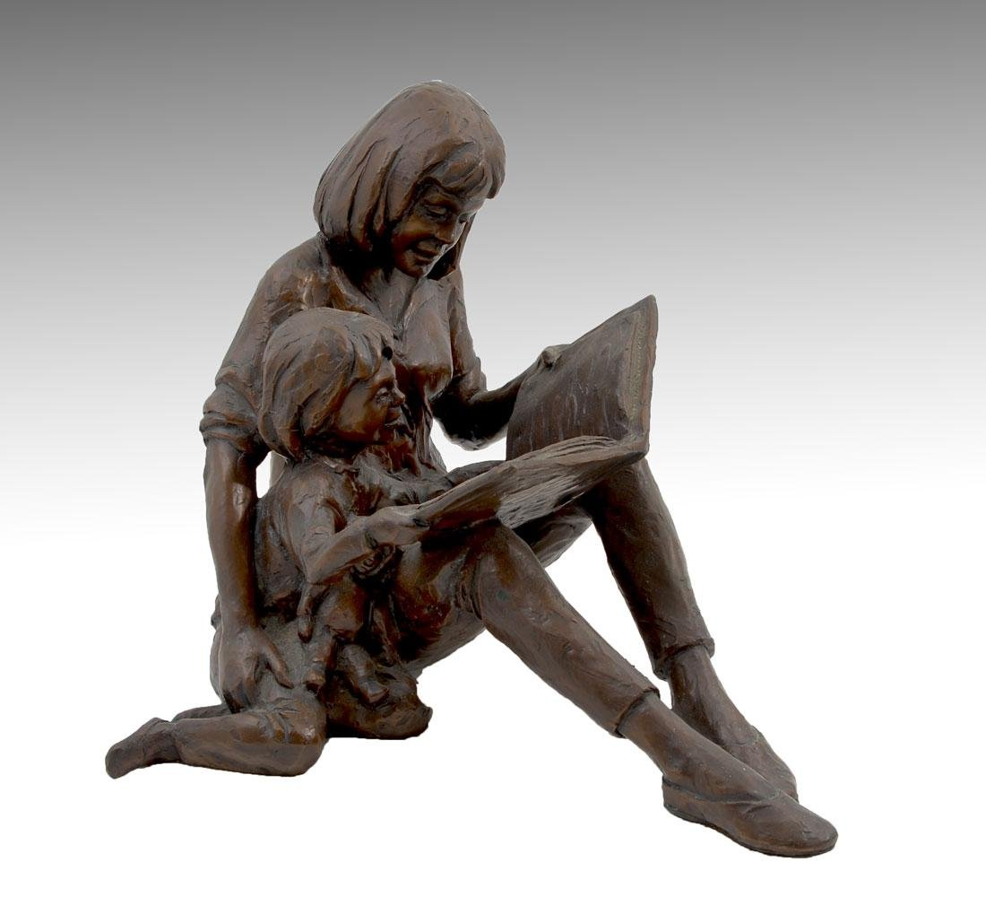 GARY PRICE MOTHER AND CHILD READING