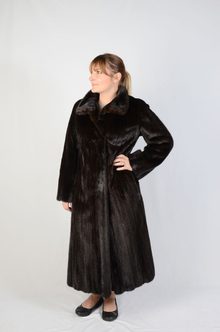 THE CHRISTIES BROTHERS FULL LENGTH MINK COAT