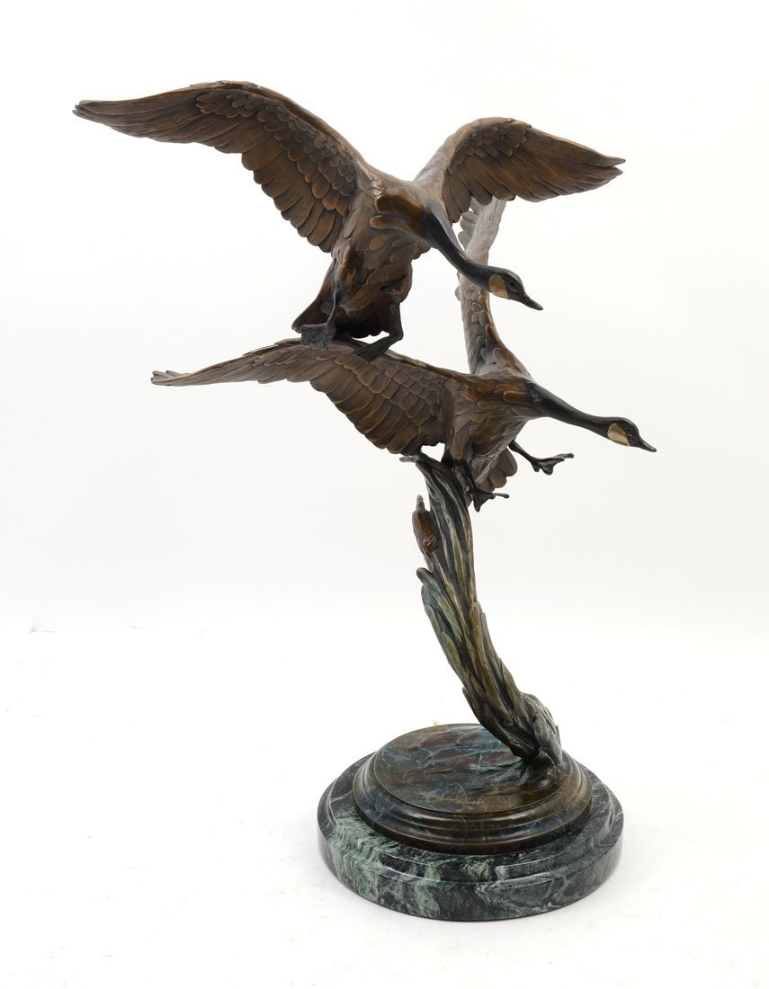 GEOFFREY SMITH GEESE BRONZE