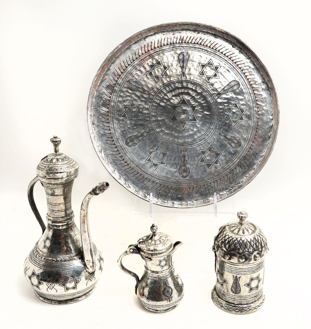 4 PIECE TURKISH DALLAH FOR GAHWA COFFEE SET