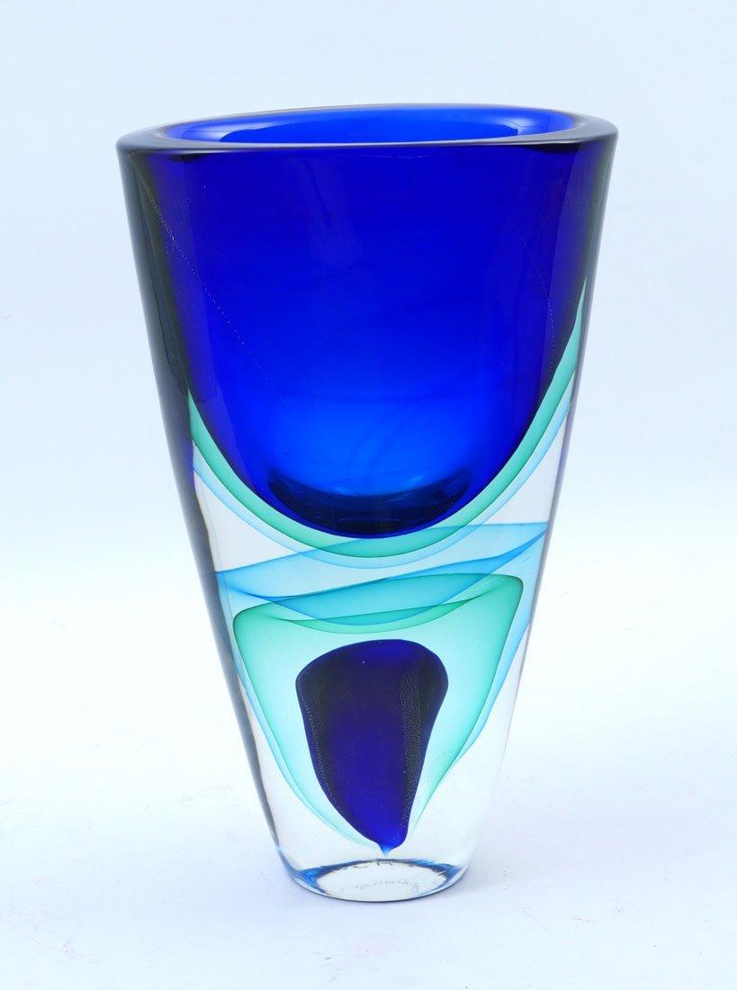 ROMANO DONA MURANO GLASS VASE