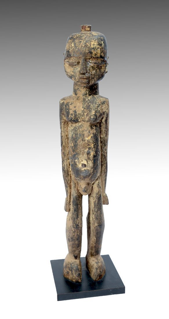 WEST AFRICAN LOBI CARVED MALE FIGURE