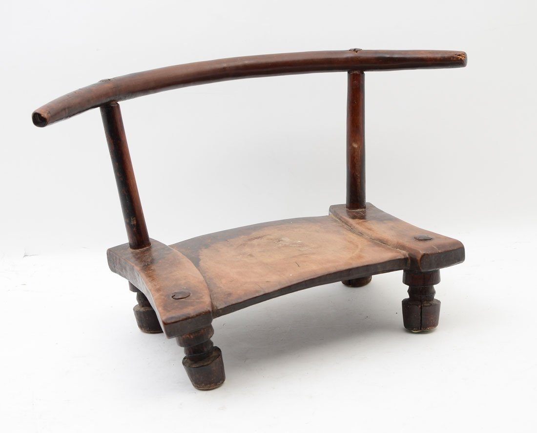 WEST AFRICAN LOW CHAIR