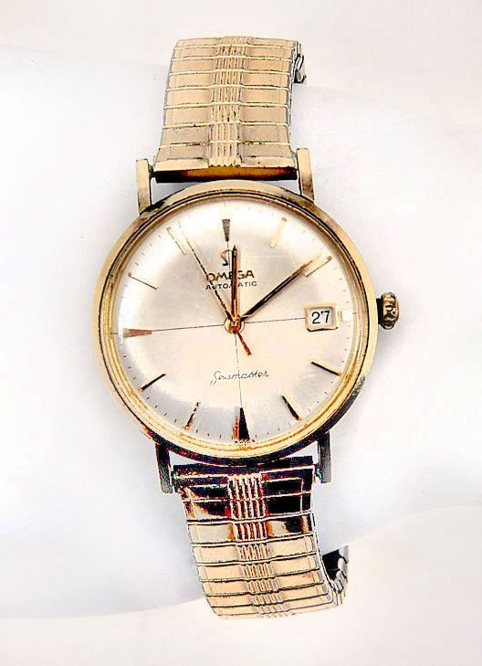 GENTS OMEGA SEAMASTER BRACELET WATCH