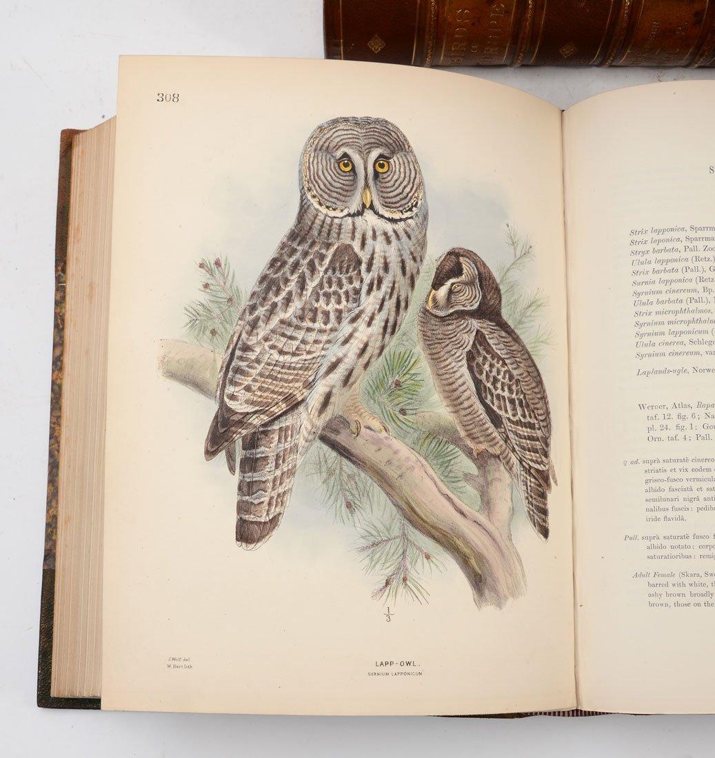 H. E. DRESSER 9 VOL HISTORY OF THE BIRDS OF EUROPE - 7