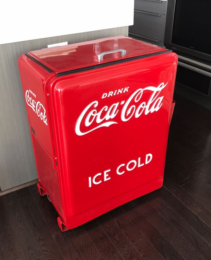 WESTINGHOUSE JUNIOR COCA COLA COOLER