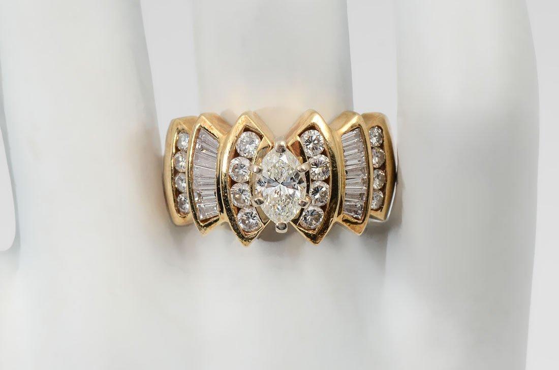 14K 1.88 CTW DIAMOND RING