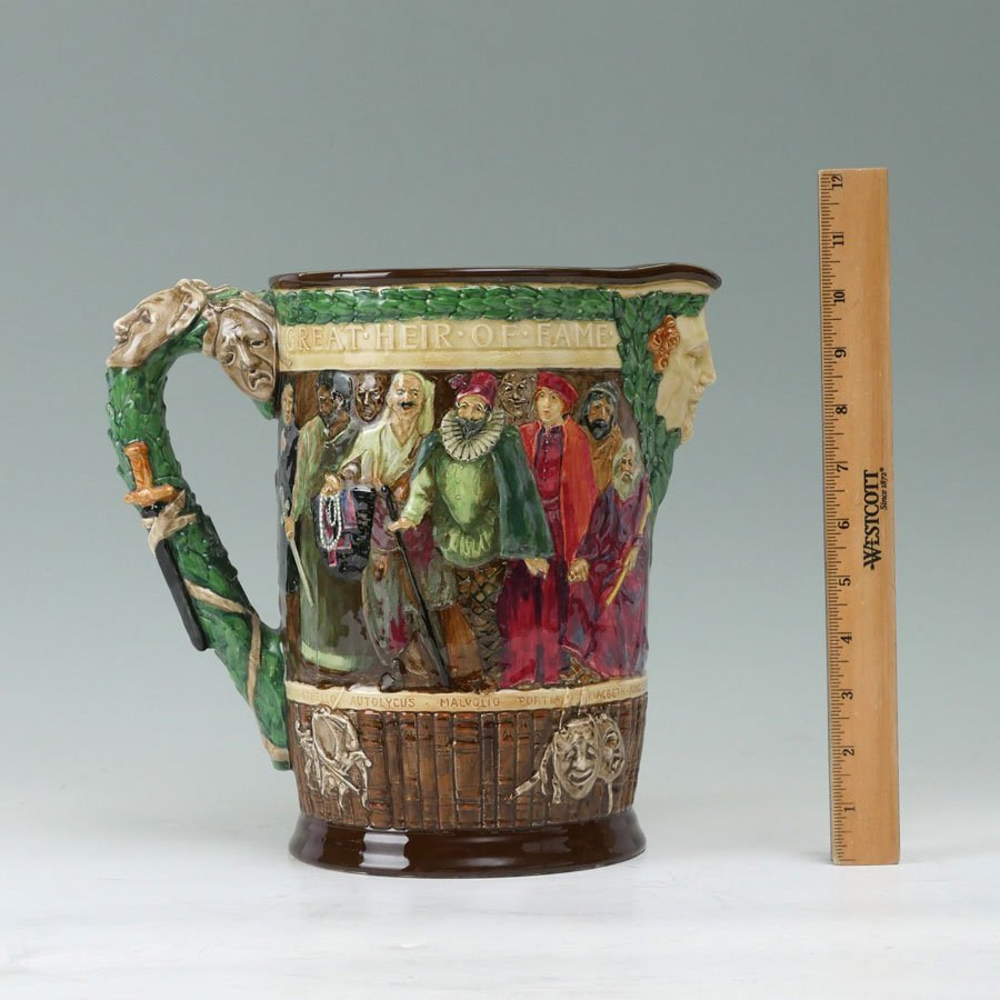 ROYAL DOULTON THE SHAKESPEARE JUG - 2
