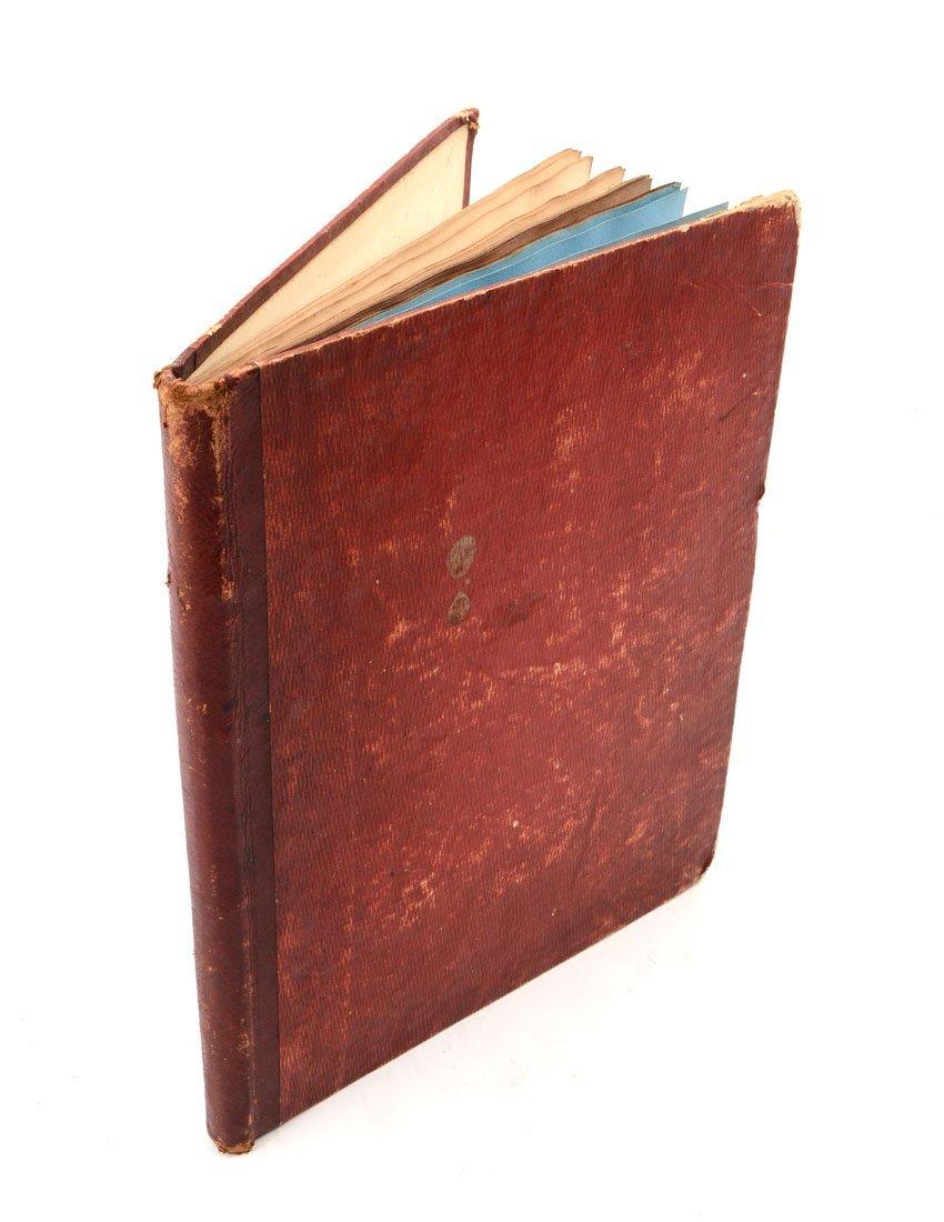 BRAMET SKETCH BOOK 1820's 25 works