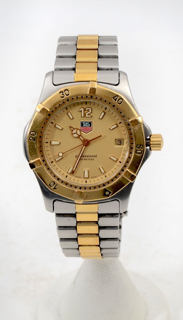 TAG HEUER 2 TONE PROFESSIONAL WATCH WK1121-0